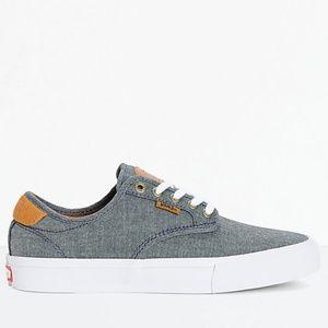 Vans Chima Pro Cord Chambray Skate Shoes Men's